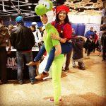 Mario and Yoshi!